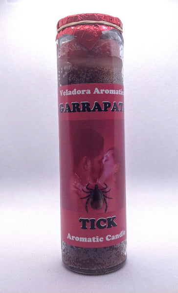 Tick  ( Garrapata )    Prepared Candle