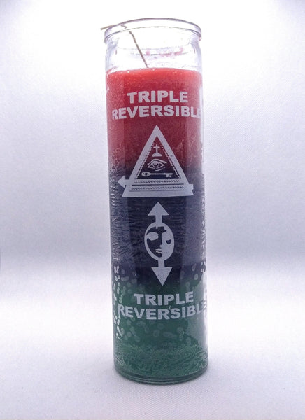 Triple Reversible  Candle