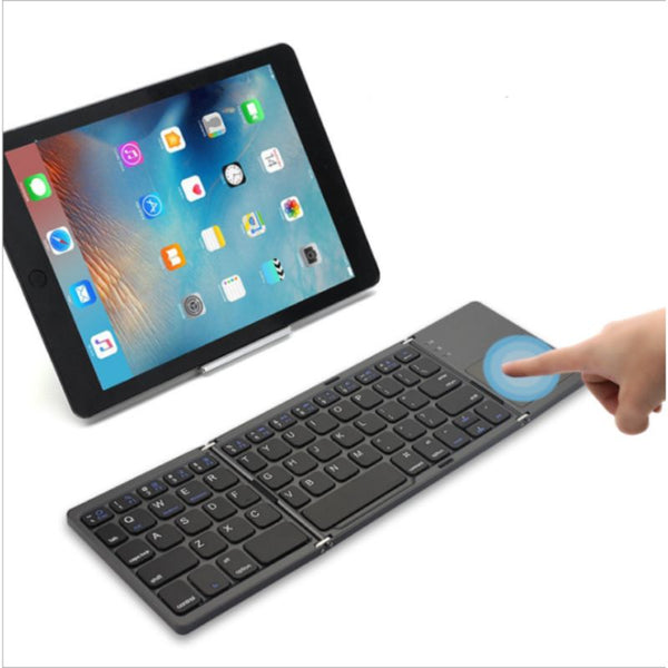 Foldable Wireless Touch Keyboard