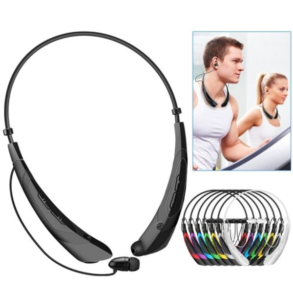 Wireless Neckband Sport Headphones  Waterproof  8hrs Playtime Per Charge