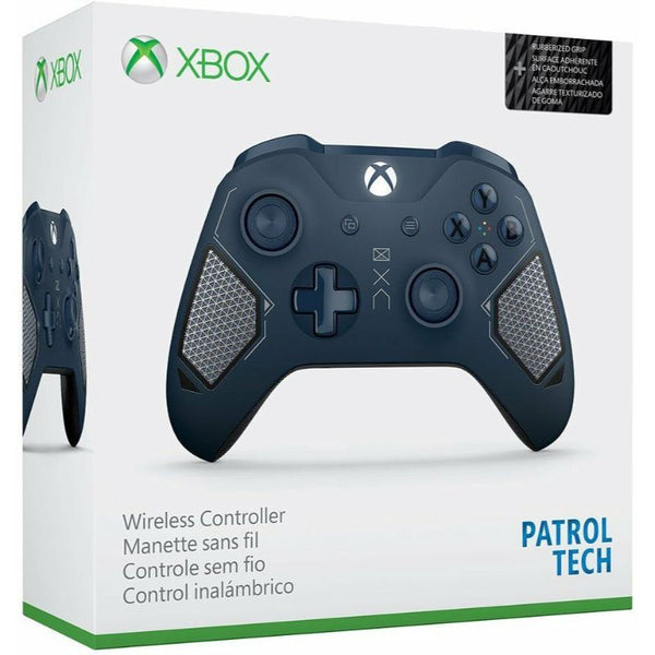 Microsoft Xbox One Wireless Controller Patrol Tech Special Edition - Blue