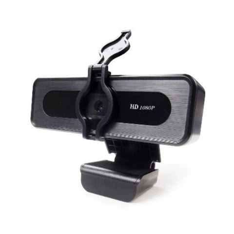 TEZL 1080P HD Webcam with Privacy Cover and Noise Reduction Mic