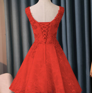 #1492 V Neck Embroidered Crochet Lace Mini Dress