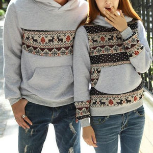 #963 Deer Sweater Matching Outfit
