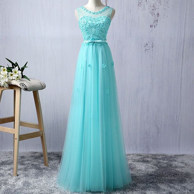 #1247 Embellished Beads and Flowers Maxi Dress with Band and Bow