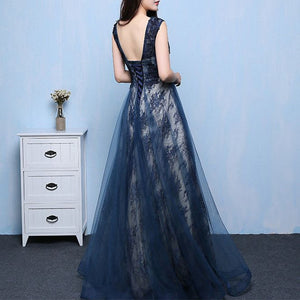 #1391 Square Back in Floral Embroidered Organza Maxi Dress