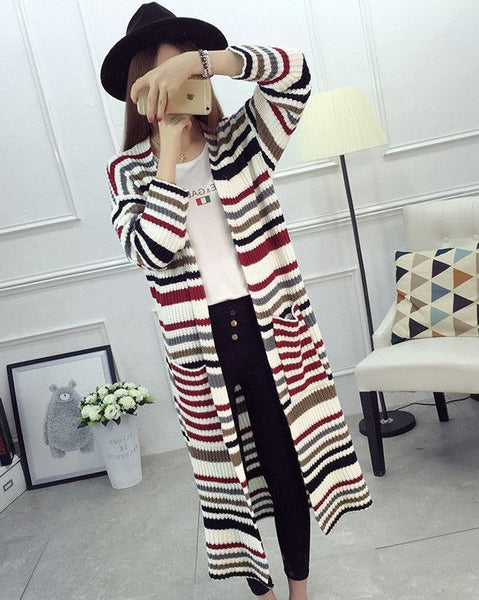 #30023 Stripe Coat
