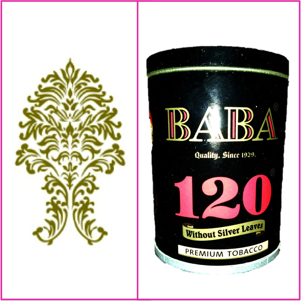 ONE Can Baba 120 Without Silver Leaves 50g Each October 2020