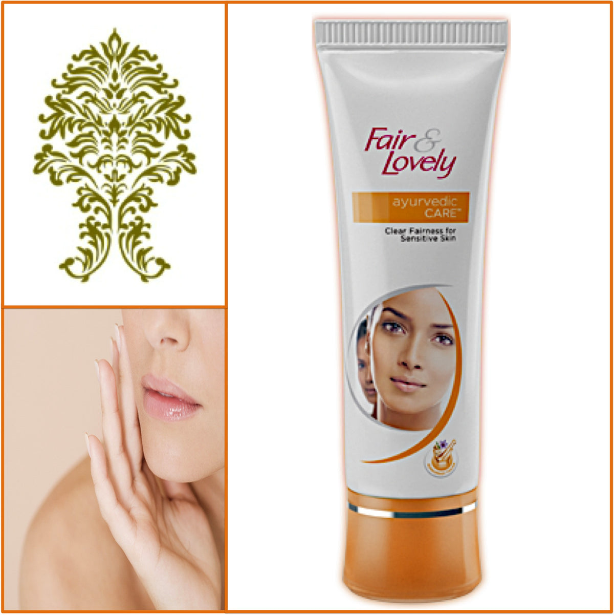 Fair & Lovely Ayurvedic Cream - Glowing Radiant Skin 50g