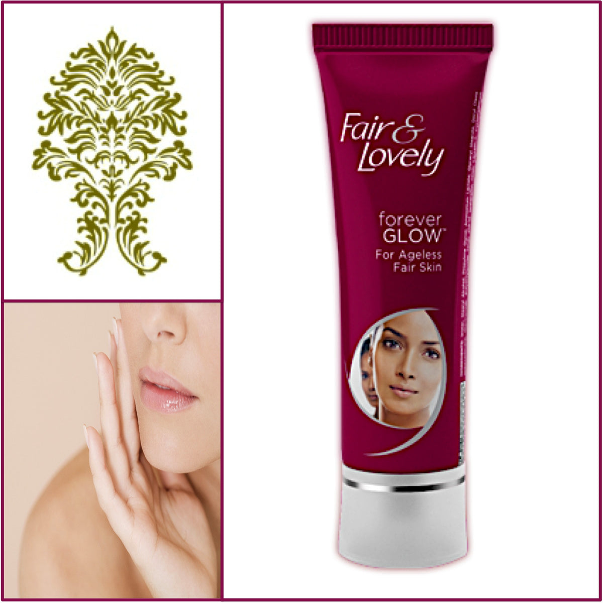 Fair & Lovely Forever Glow Cream - Younger Looking Skin 50g