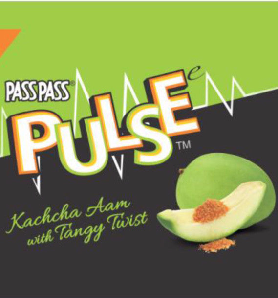 1 Box Pulse Mango Kacchaa Aam Flavor Candy 130 Pieces Each bag