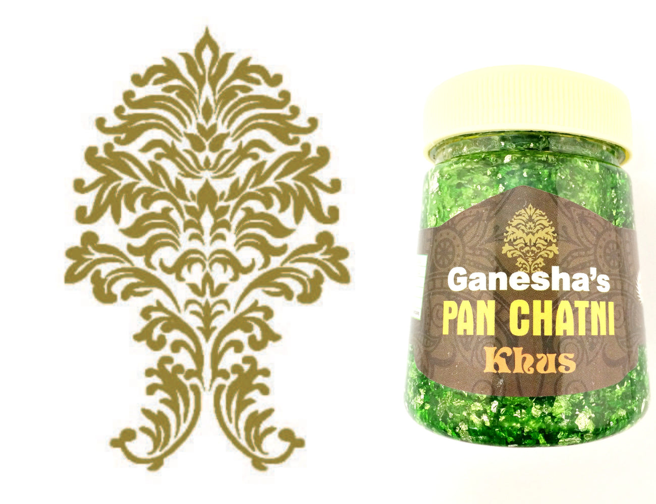 ONE Bottle Pan Chatni Chutney Khus Export Quality