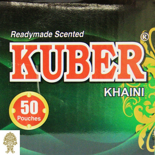 1 Box (50 pouches @ 10 grams ea) Kuber Tobacco
