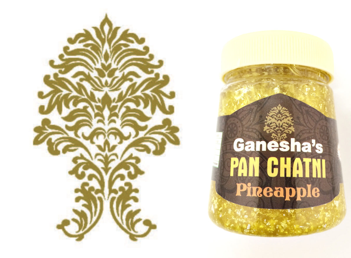ONE Bottle Pan Chatni Chutney Pineapple Export Quality