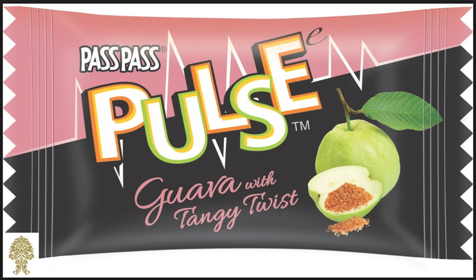 1 Box Pulse Guava Flavor Candy 130 Pieces Each bag