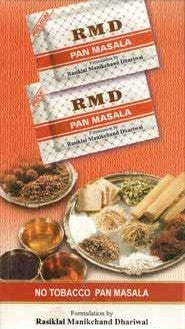 1 Box RMD Sada Pan Masala Fresh September 2018