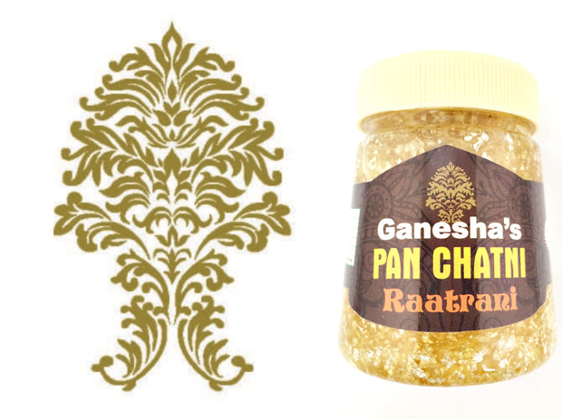 ONE Bottle Pan Chatni Chutney Raatrani Export Quality