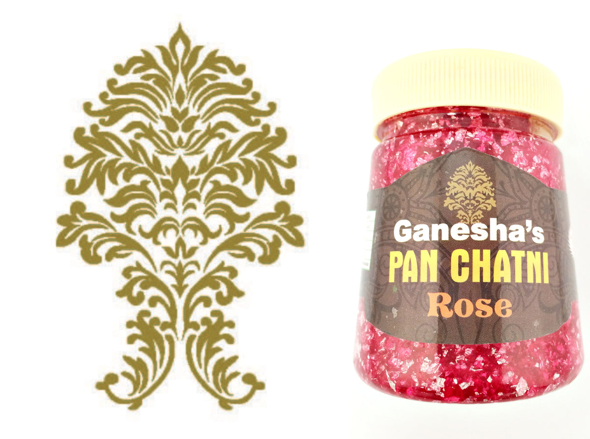 ONE Bottle Pan Chatni Chutney Rose Export Quality