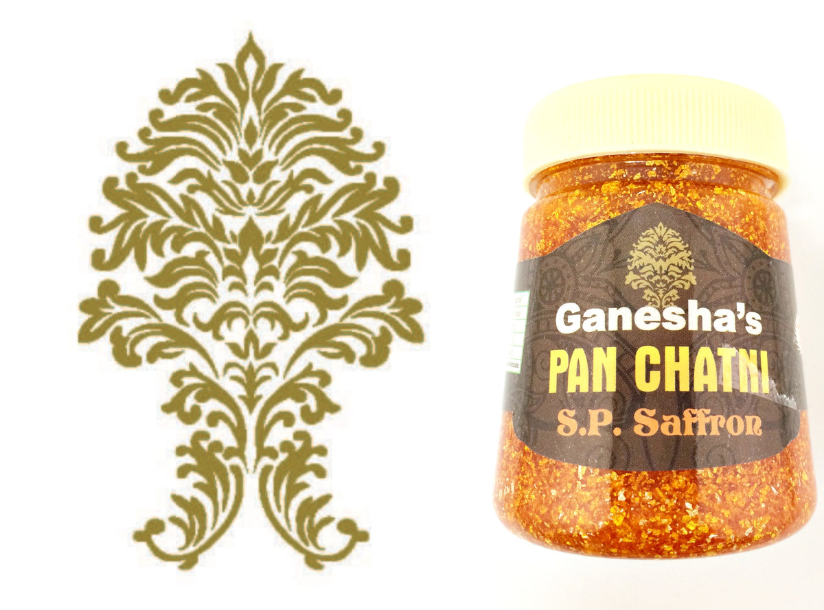 ONE Bottle Pan Chatni Chutney Special Saffron Export Quality
