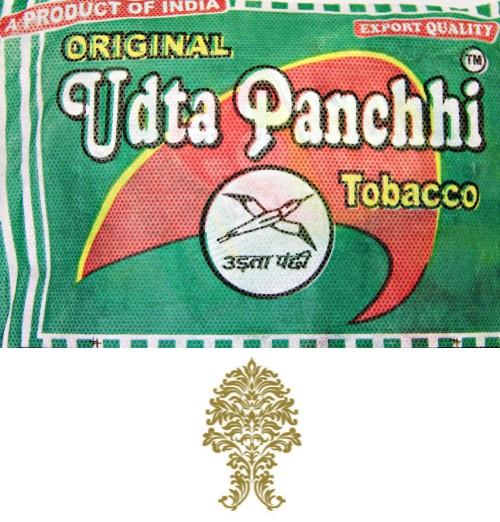 50 Bags (15 pieces) Udta Panchhi 15gm tobacco