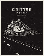 Load image into Gallery viewer, Critter Point Art Print (Kristin Smart Scholarship)
