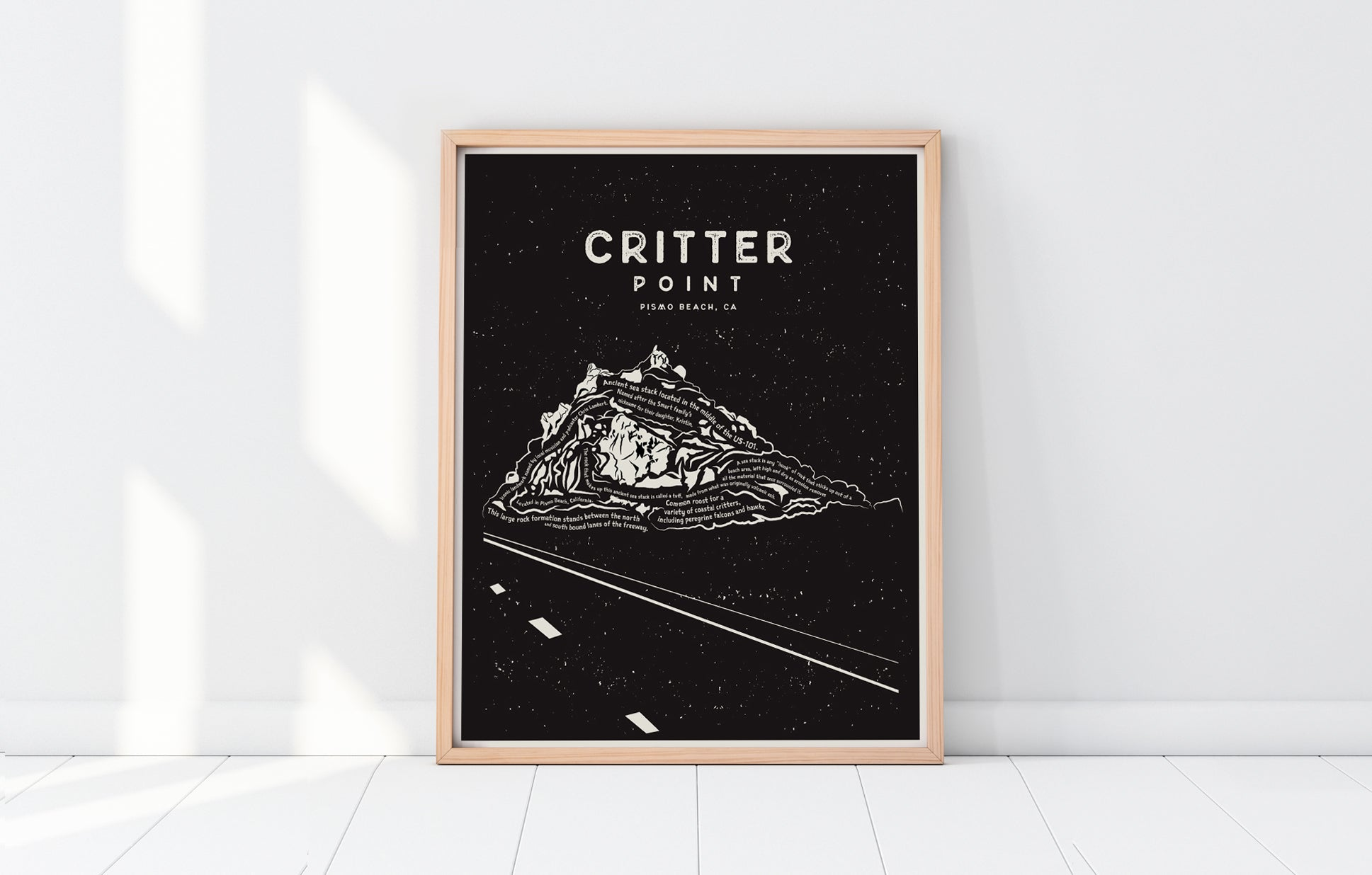 Critter Point Art Print (Kristin Smart Scholarship)