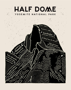 Half Dome Wall Art