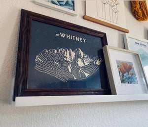 Mount Whitney Art Print