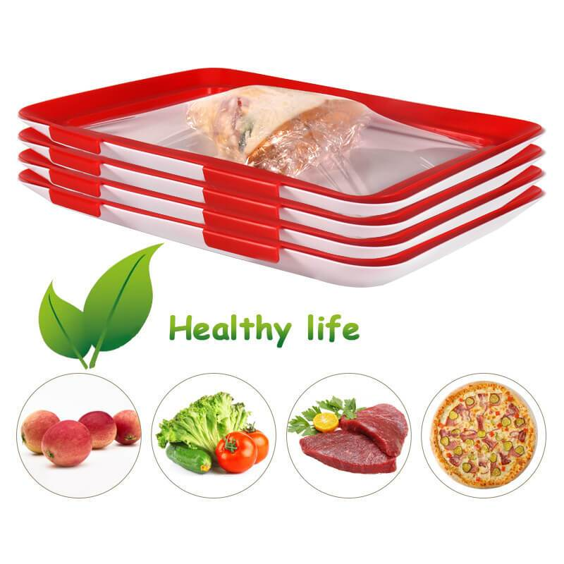 Creative food preservation tray/food reusable tray