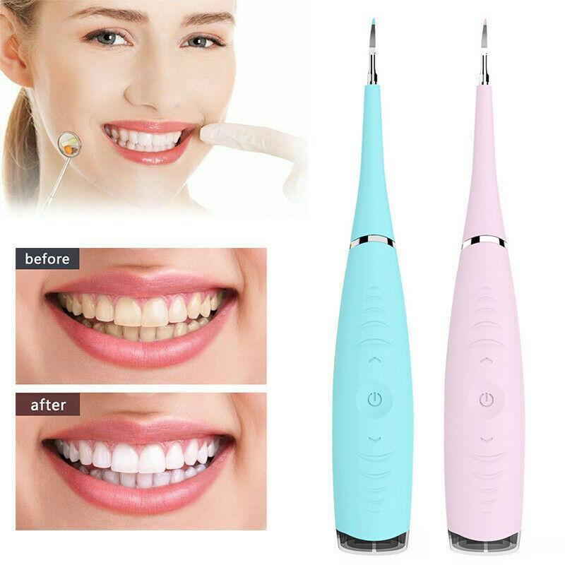 Electric ultrasonic scaler dental calculus removal cleaner