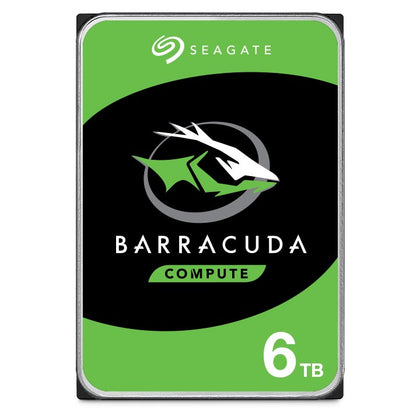 Seagate 6TB BarraCuda Desktop Internal 3.5