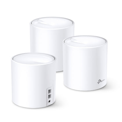 DECO X60 3-PACK AX3000 SMART WHOLE HOME MESH WIFI SYSTEM, 3YR