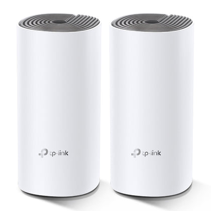 DECO E4 2-PACK AC1200 WHOLE HOME MESH WIFI