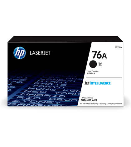HP 76A BLACK TONER - APPROX 3K PAGES