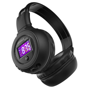 HiFi Stereo Bluetooth Headphone With Micro SD Card and FM Radio