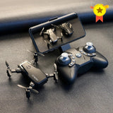 Foldable Mini Drone With Camera HD Quad-Counter