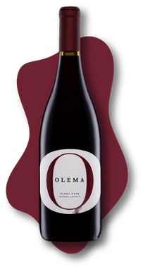 Amici, Olema, Pinot Noir, Sonoma County, California, 2019 Online Wine Class Image atlearnaboutwine.com