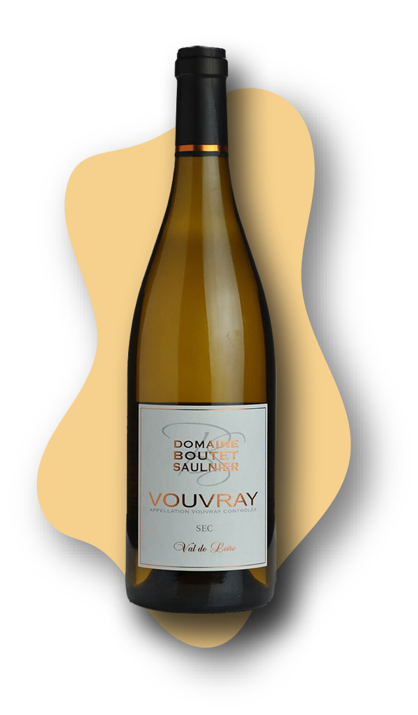 Domaine Boutet, Saulnier, Vouvray Sec, Loire Valley, France, 2018 STARS of White Wine Online Wine Tasting Class Image at learnaboutwine.com