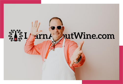 Pink-party-Ian-blackburn-online-wine-tasting-events-image-at-learnaboutwine