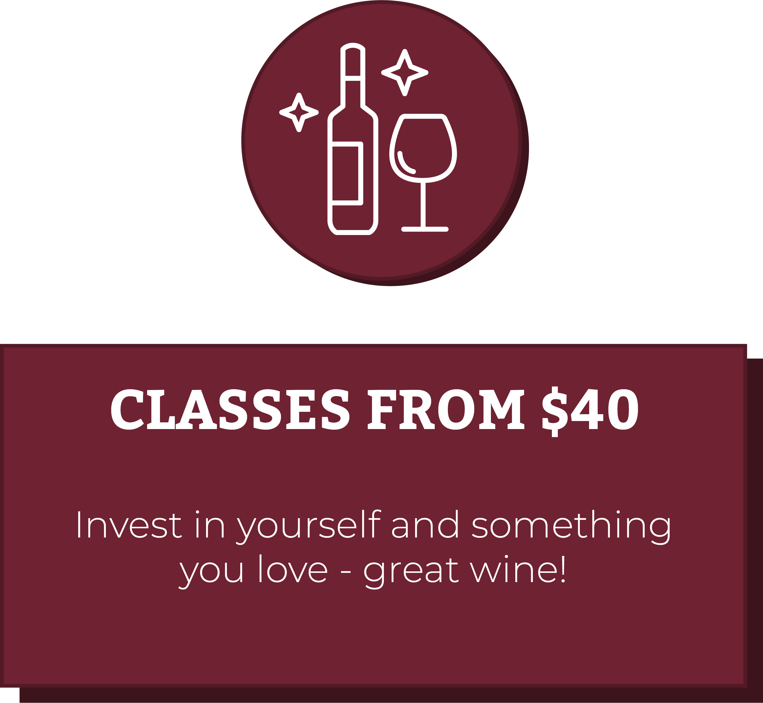 classes from $40
