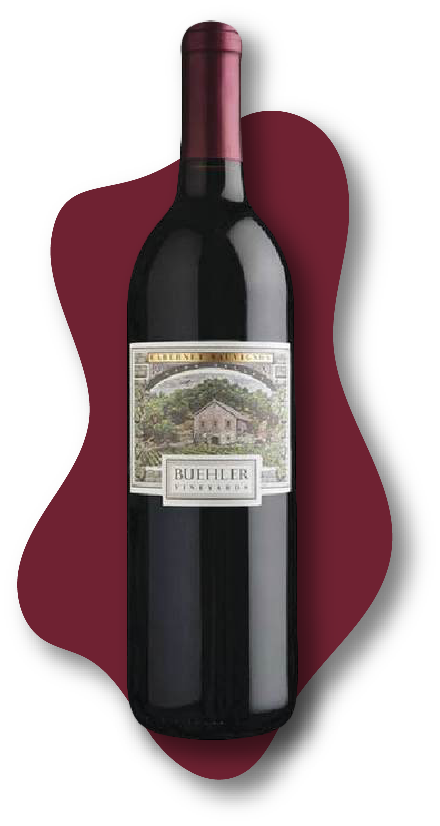 Buehler, Cabernet Sauvignon, Napa Valley, California, 2017  Online Wine Class Image at learnaboutwine.com