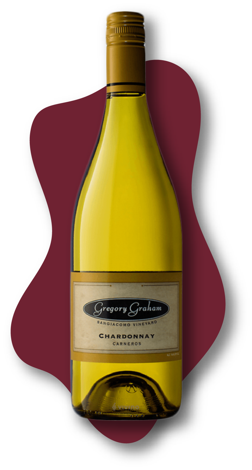 Gregory Graham Sangiacomo Vineyard, Chardonnay, Carneros, 2019 Online Wine Class Image at learnaboutwine.com