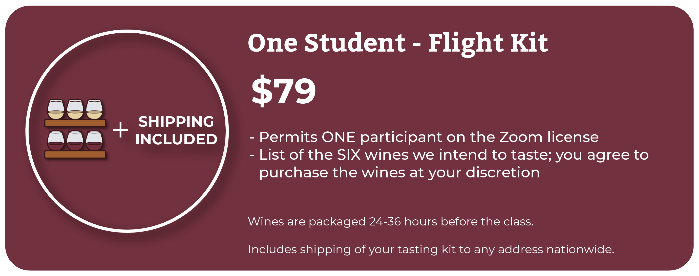Flight Kit Wine Camp Prices  Online Wine Class Image atlearnaboutwine.com