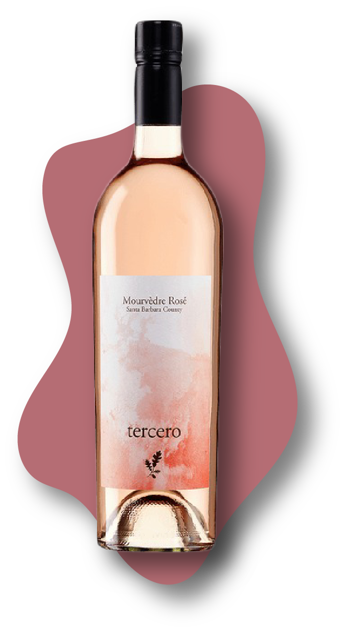 tercero-wines-mourvèdre-rosé-santa-barbara-county-2020-stars-of-wine-online-wine-tasting-class-image-at-learnaboutwinecom