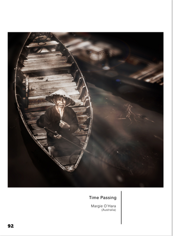 Photograph by Maggie O'Hara featured in international photography magazine Living the Artistic Life