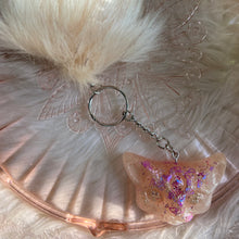 Load image into Gallery viewer, Third-Eye Occult Cat Keychain with Pompom