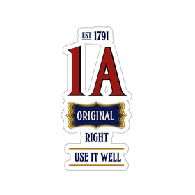 1A Original (Vinyl Sticker) 4 Sizes