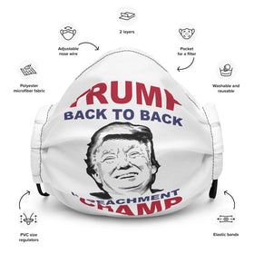 Back to Back Impeachment CHAMP (Adjustable Mask)