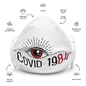 COVID-1984 (Adjustable Mask)