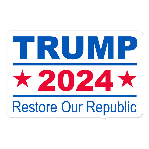 Trump 2024 (Vinyl Sticker)